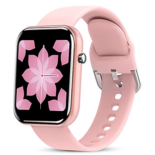 """Smartwatch Mujer, Reloj Inteligente Pantalla De 1,54"""", Pulsera Actividad con Monitor De Sueño Contador, Pulsómetro, Podómetro Fotografía Remota IP67 Impermeable Reloj De Fitness"""