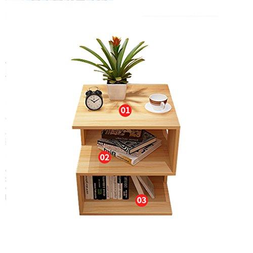 MDBYMX Beistelltisch Einfacher Kleiner Tisch, Nachttisch, Mini Couchtisch, Multifunktionstisch, Kaffetisch