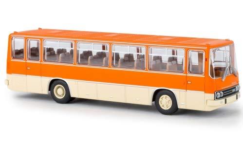 Ikarus 255.71 Reisebus, orange/beige, 0, Modellauto, Fertigmodell, Brekina 1:87