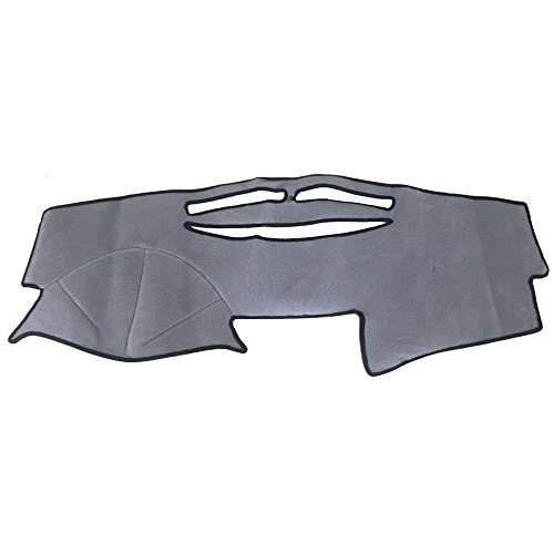 Hex Autoparts Dash Cover Mat Dashboard Cover Dashmat Gray for Toyota Camry 2007 2008 2009 2010 2011