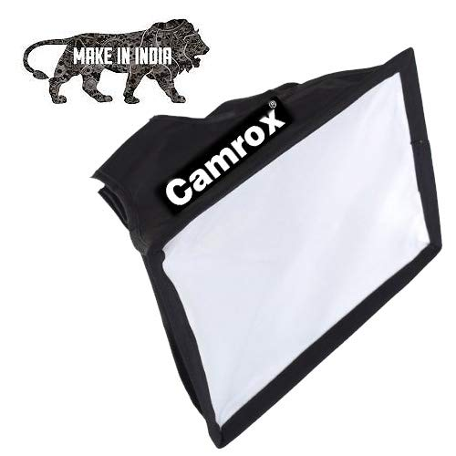 Camrox Flash Soft Box Speedlite Diffuser ||Black and White||