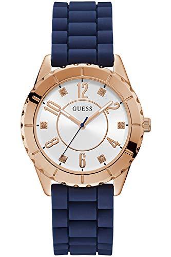 Guess Ladies Sport Reloj para Mujer Analógico de Cuarzo con Brazalete de Acero Inoxidable W1095L2