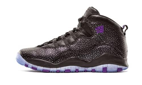 Nike Nike Herren Basketballschuhe, Black (Schwarz/Fierce Purple-Schwarz), 36.5 EU