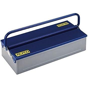 Alyco 192733 - Caja de herramientas metalica de 1 bandeja 460 x 210 x 110 mm: Amazon.es: Bricolaje y herramientas