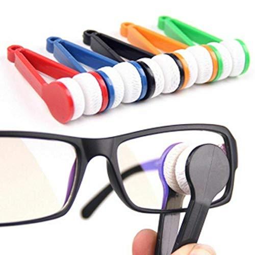Tragbare Mikrofaser Brillen-Reinigungs Multifunktionale Brille Sonnenbrillen Scheibenwischer