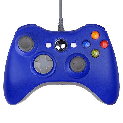 Gam3Gear Gamepad con cable USB para Microsoft Xbox 360 Slim PC con...