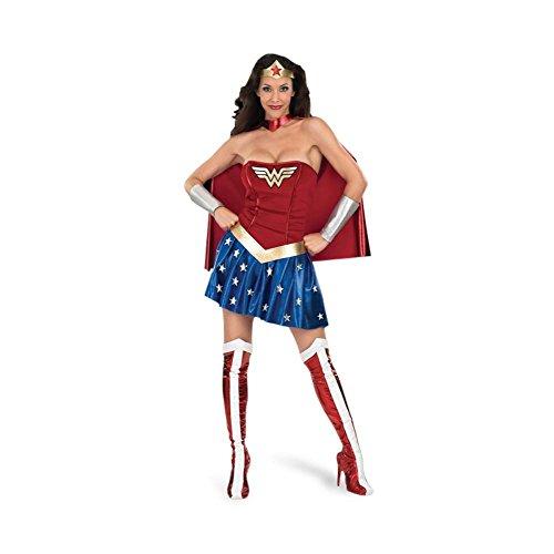 Wonder Woman - Déguisement Super Heroïne Pour Femme - M