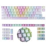 POM Jelly Keycaps 109-Key Doubleshot Translucent OEM Profile for 61/87/104/108 Keys PC Gaming...