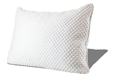 PureComfort PREMIUM ADJUSTABLE FILL Gel Infused Shredded Hypoallergenic CertiPUR Memory Foam Pillow with Proprietary washable removable cooling bamboo derived cover - 5 YEAR WARRANTY ?