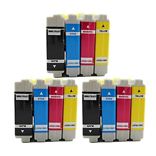 SVUZU Cartucho de Tinta de Repuesto Compatible para Brother LC960, para Usar con DCP-130C DCP-135C DCP-150C DCP-153C FAX-2480C MFC-235C MFC-240CN