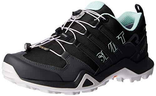 adidas Damen Terrex Swift R2 GTX Trekking-& Wanderhalbschuhe, Schwarz (Negbas/Vercen 000), 41 1/3 EU