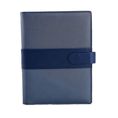 Cuadernos de taquigrafía Hebilla magnética Hojas Sueltas Cuaderno Notas del Estudiante Oficina de Negocios Extracto Escritura Bloc de Notas Logotipo Personalizado Cuaderno de Tapa Dura