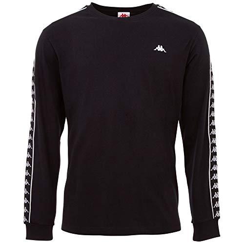 Kappa Herren GROLF Sweatshirt, 19-4006 Caviar, L