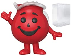 Bundled Plastic Box Protector with the collector in mind (Removable Film) From Ad Icon, Kool-Aid - Kool-Aid Man, as a stylized POP vinyl from Funko! Stylized collectable stands 3 ¾ inches tall, perfect for any Ad Icon fan! Ships in acid-free PET plas...