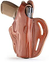 1791 GUNLEATHER Sig P320 Thumb Break Holster - Right Handed OWB Leather Gun Holster - Fits Sig Sauer P220, P227, P320 and Ruger Security-9