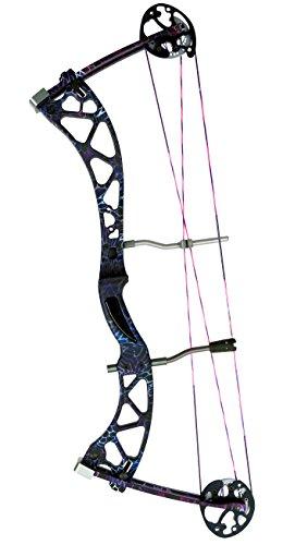Champion Archery Carbon Haze Purple Haze Archery Bow, Purple Haze-Right Hand Dominant 50 Pound Draw