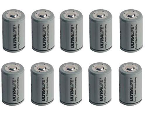 10x Ultralife Lithium 3,6V Batterie LS 14250-1/2 AA - ER14250 Li-SOCl2 LS14250 AKKUman Set (10er)