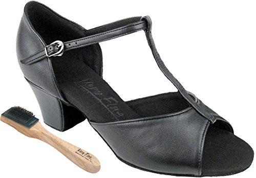 "Very Fine Dance Shoes 1.6"" Cuban Heel Open Toe Ballroom Shoes"