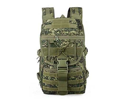 Canis Latrans Camping Bags Men Outdoor Waterproof Molle Bagpack Military Tactical Backpack Women Big Assault Travel Bag GREEN