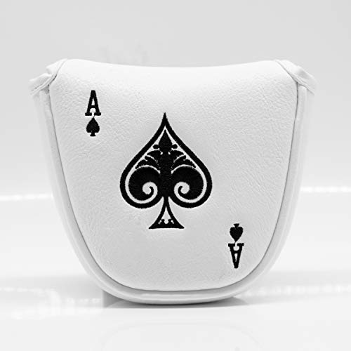 Golf Putter Covers,Putter Covers Golf Club Head Covers Putter Headcover for Mallet, Synthetic Leather Golf Putter Head Covers with Magnetic for All Brands