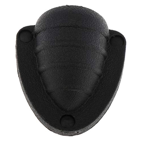 Toygogo Plastic Creative Marine Fan Shell For Marine Boats,Wire Covers For Clam - Black, S