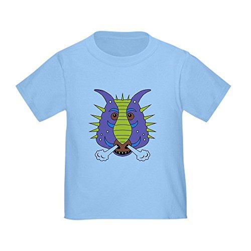 CafePress Max's Dragon Shirt Toddler T Shirt Cute Toddler T-Shirt, 100% Cotton Baby Blue