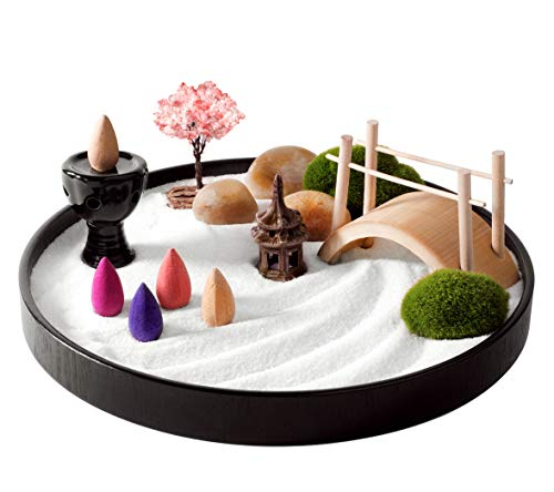 Mini meditation zen garden
