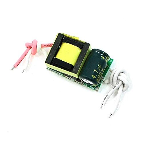 AC 110-220V DC adaptador de alimentación 8-11V 300mA para 3x2W luz de tira de LED