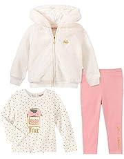 Juicy Couture Baby Girl's 3 Pieces Jacket Pants Set Pants