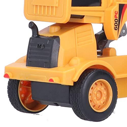 Eosnow Capacidad de coordinación de pies Vehículo de deformación Juguete de ingeniería Coche de Juguete Fuerza inercial con Colores Brillantes para Regalo de niños