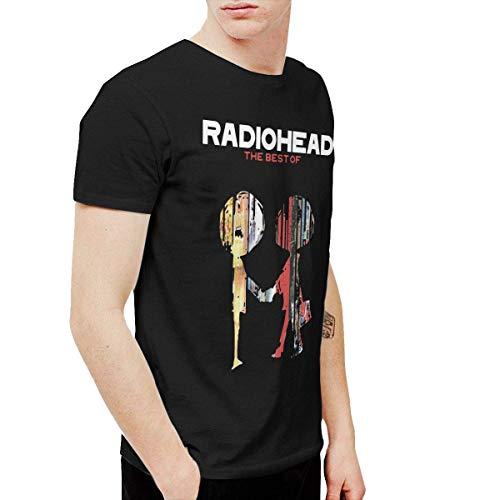 Pillowcase Wholesale BowersJ Radiohead Camisetas Hombre Negro