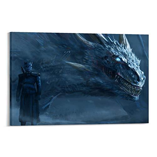DRAGON VINES Juego de Tronos Temporada 4 El Hijo del Todopoderoso Duque de Kaiyan Lienzo Impreso Ar Twork Decoración Pintura 40 x 60 cm