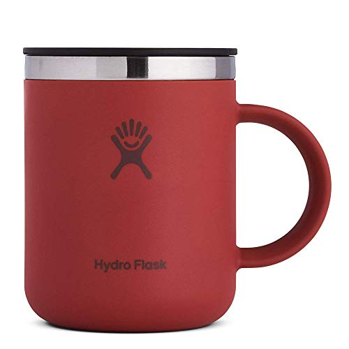 Hydro Flask Skyline Series Coffee Mug - Stainless Steel & Vacuum Insulated - Press-In Lid - 12 oz, Brick