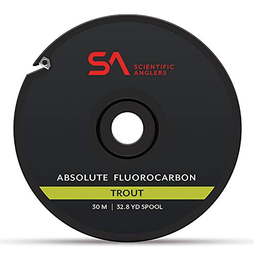 SA Absolute Trout Fluorocarbon Tippet, 30m, 5X