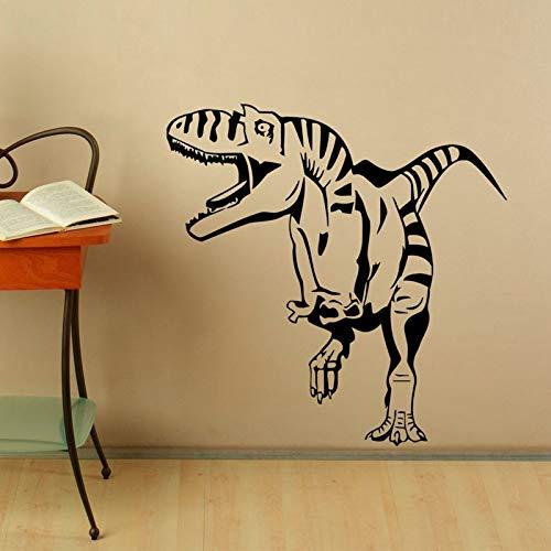 Quszpm Dinosaurio Pegatinas de Pared niños decoración de la habitación de los niños Vinilo decoración del hogar Tatuajes de Pared 59 cm x 59 cm