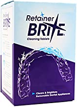 Retainer Brite 96 Tablets -3 Months Supply of Retainer Cleaner