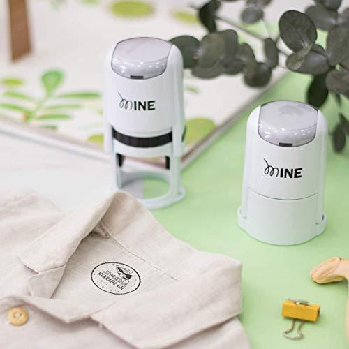 Sello marcador ropa personalizado niños redondo Elige entre 9 Diseños Exclusivos