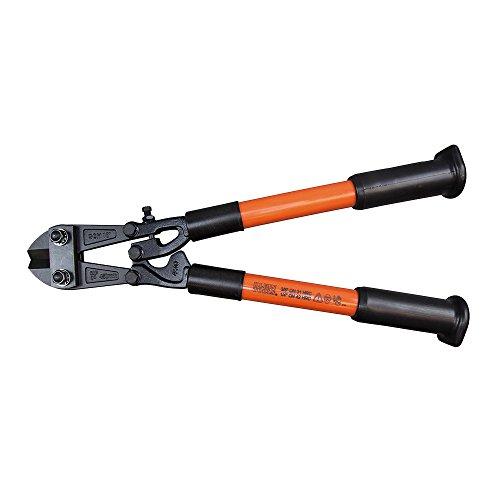 Bolt Cutter, Fiberglass Handles, 18-Inch Klein Tools 63118, Black/Red , Orange