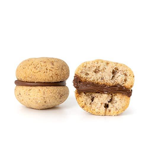 Baci di Dama alla Nutella Artigianali 1 Kg Dolciaria Fiorillo | Biscotti di frolla freschi |...