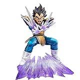 SDFH Cartoon Anime Game Dragon Ball Z Bandai Anime Figure Figuarts 16Cm, PVC Zero Vegeta PVC Action Figure Hand-Model Collezioni Bambole Giocattoli Regali per Bambini