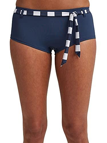 ESPRIT Damen North Beach h.Shorts Bikinihose, 405/DARK Blue, 42