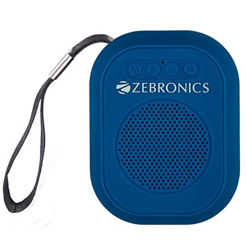 Zebronics Zeb-SAGA Ultra Portable BT Speaker with mSD, USB, AUX, FM &...