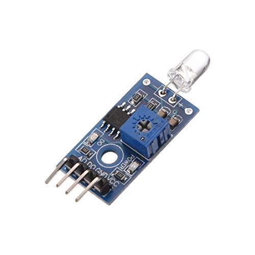 sourcing map Photodiode Modul 4 Terminals Lichterkennung für Arduino Schön Auto