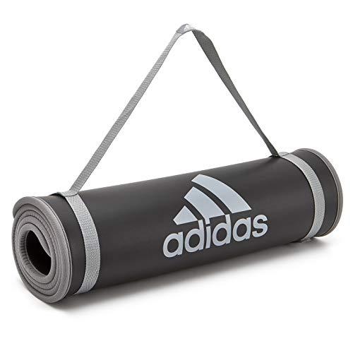 adidas Trainingsmatte, 2 - Grau, Einheitsgröße