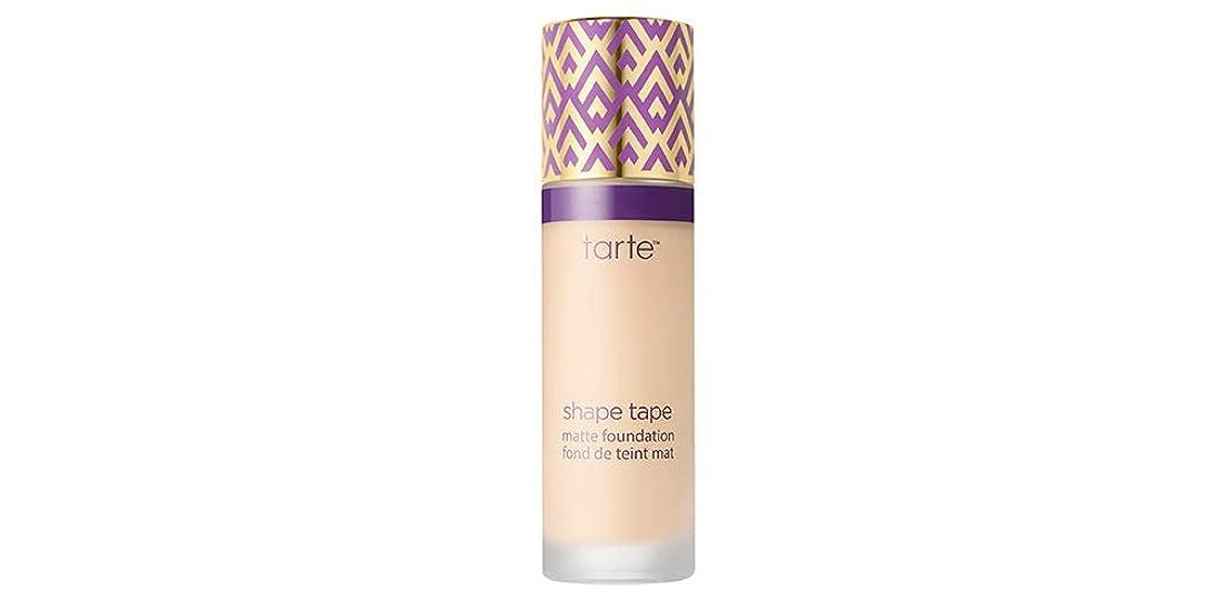 唯一一元化する石灰岩TARTE shape tape matte foundation (12S Fair Sand)