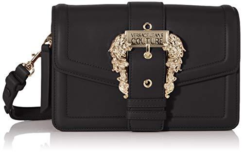 Versace Jeans Bag, Borsa a tracolla Donna, Nero (Nero), 10x16x24 cm (W x H x L)