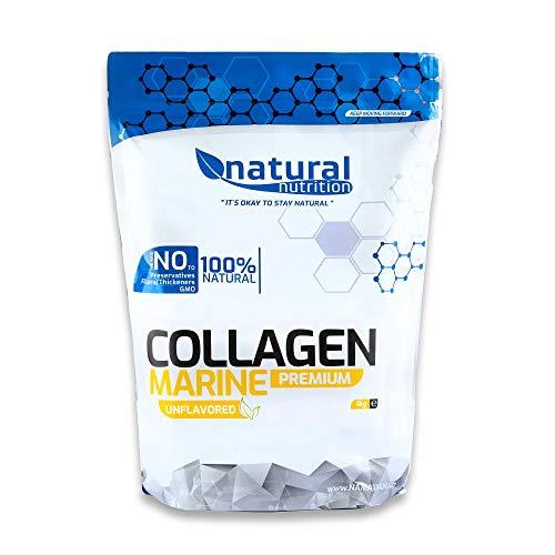Natural Nutrition Marine Fisch Kollagen Hydrolysat Pulver - Natürliche Unterstützung für einen gesunden und vitalen Körper - Geschmacksneutral, für Vegetarier geeignet (1000g)