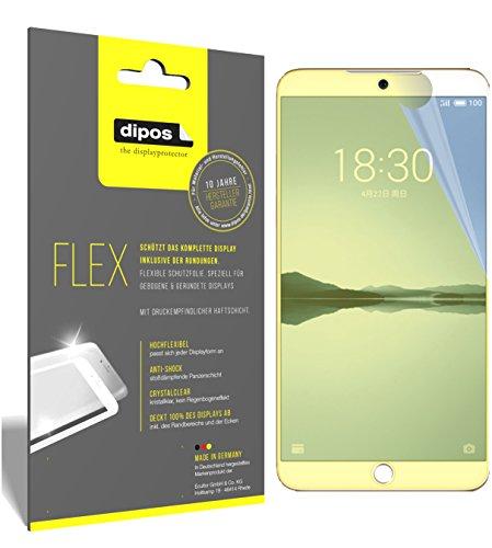 dipos I 3X Schutzfolie 100prozent kompatibel mit Meizu 15 Plus Folie (Vollständige Bildschirmabdeckung) Bildschirmschutzfolie