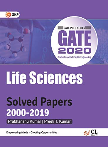 GATE Solved Papers for Lifesciences