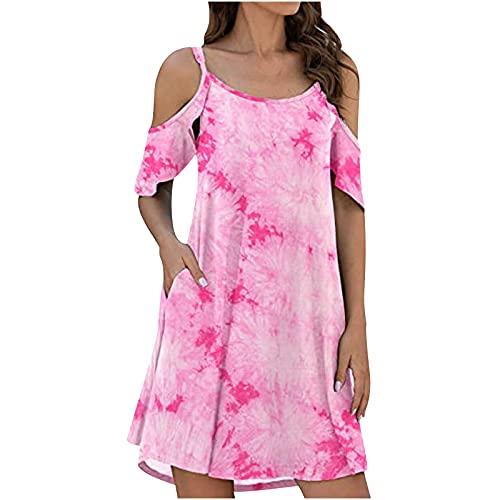pamkyaemi Vestido de verano para mujer, largo hasta la rodilla, vestido de negocios, manga larga, botón, elegante, hasta la rodilla, elegante, vestido de cóctel, vestido de lápiz. Negro XXL